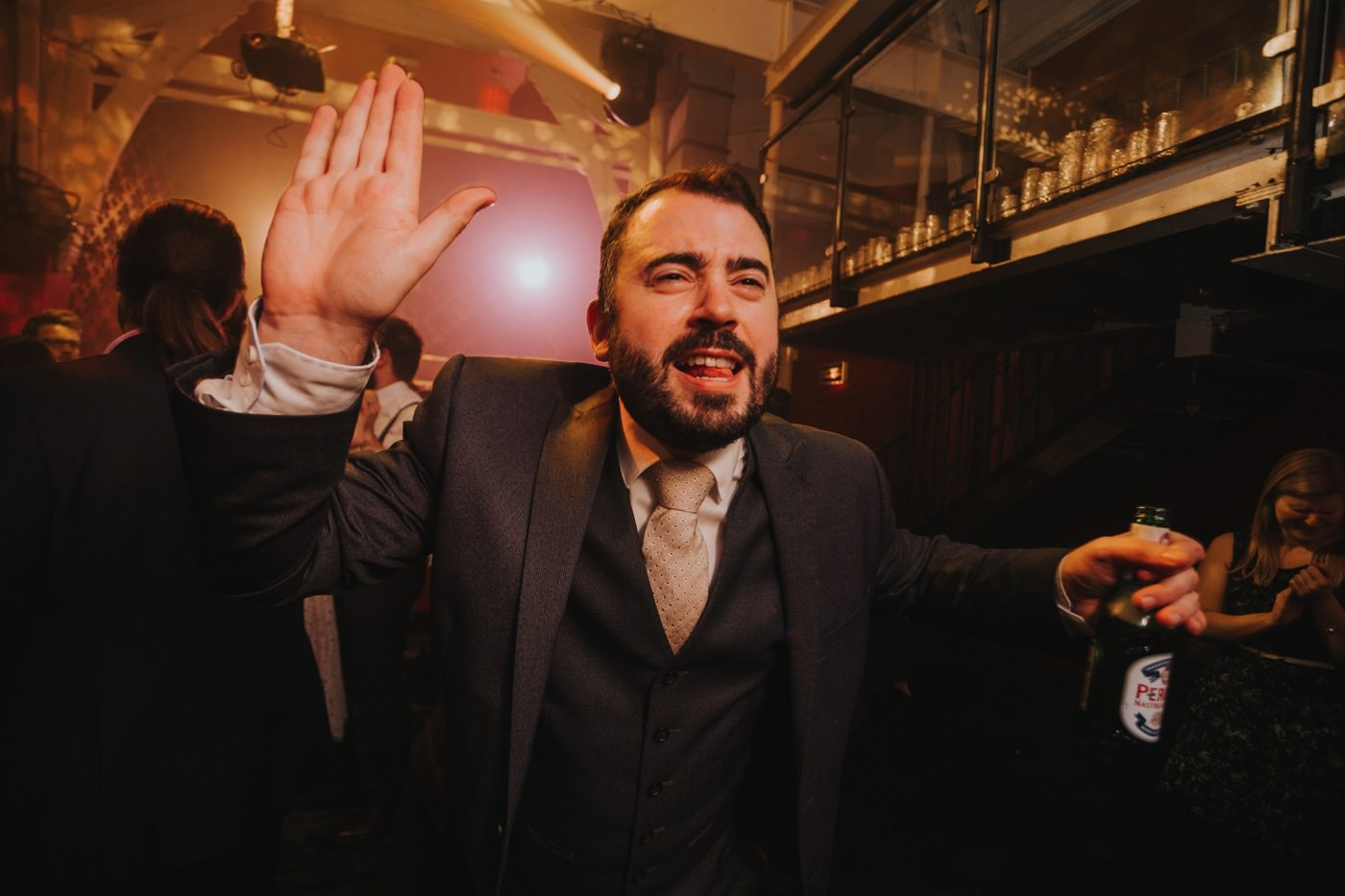 Hannah & Ste | Deaf Institute wedding 91
