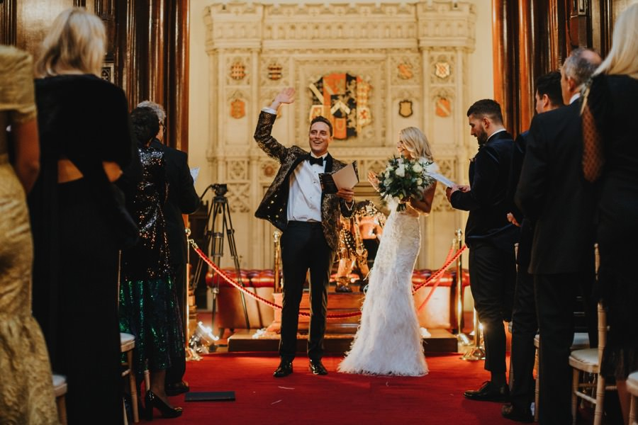 Tom & Lorna | Allerton Castle Wedding 37