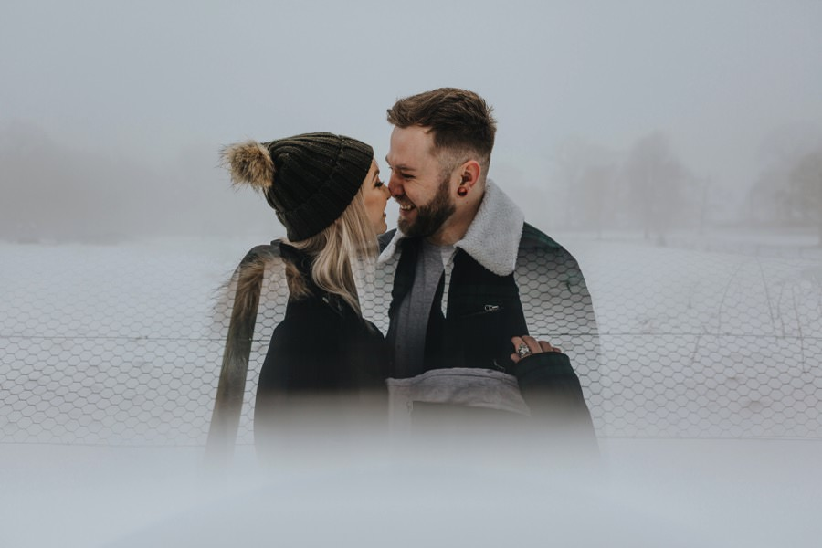 Emma & Kyle | Clumber Park Engagement shoot 9