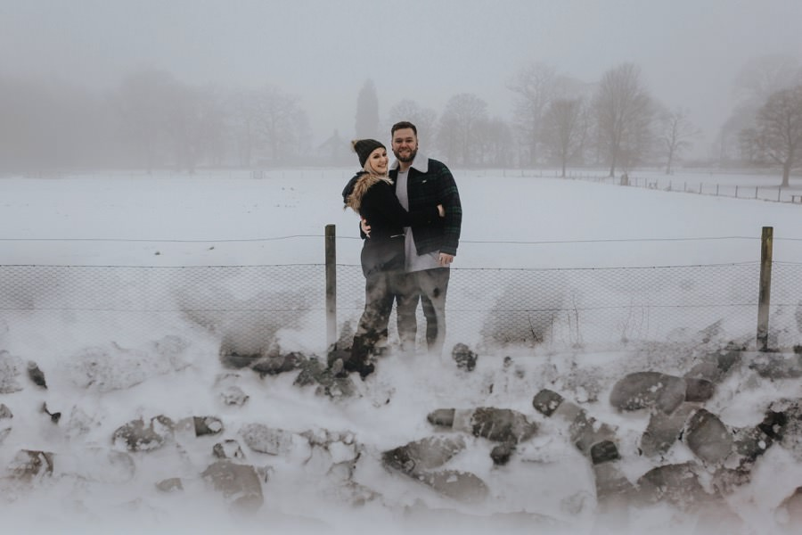 Emma & Kyle | Clumber Park Engagement shoot 11