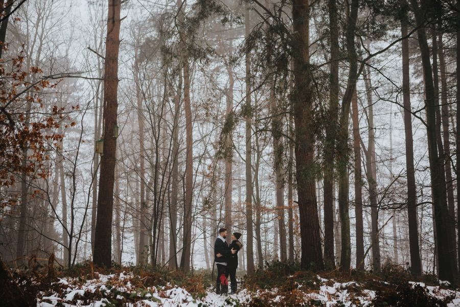 Emma & Kyle | Clumber Park Engagement shoot 12