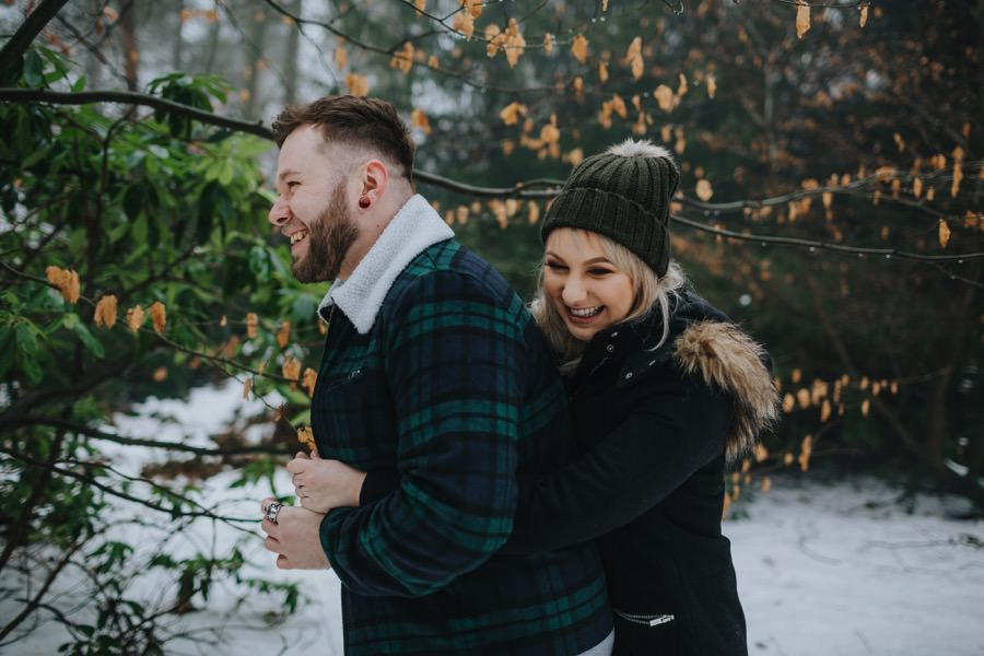 Emma & Kyle | Clumber Park Engagement shoot 15