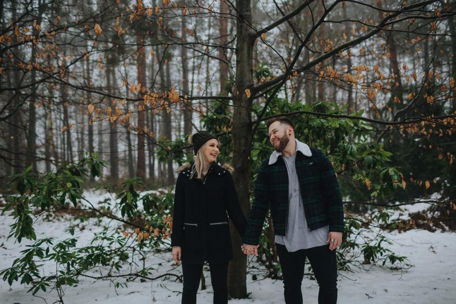 Emma & Kyle | Clumber Park Engagement shoot 62