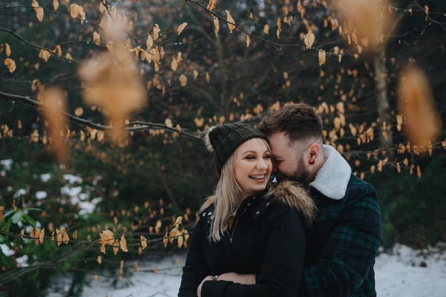 Emma & Kyle | Clumber Park Engagement shoot 21