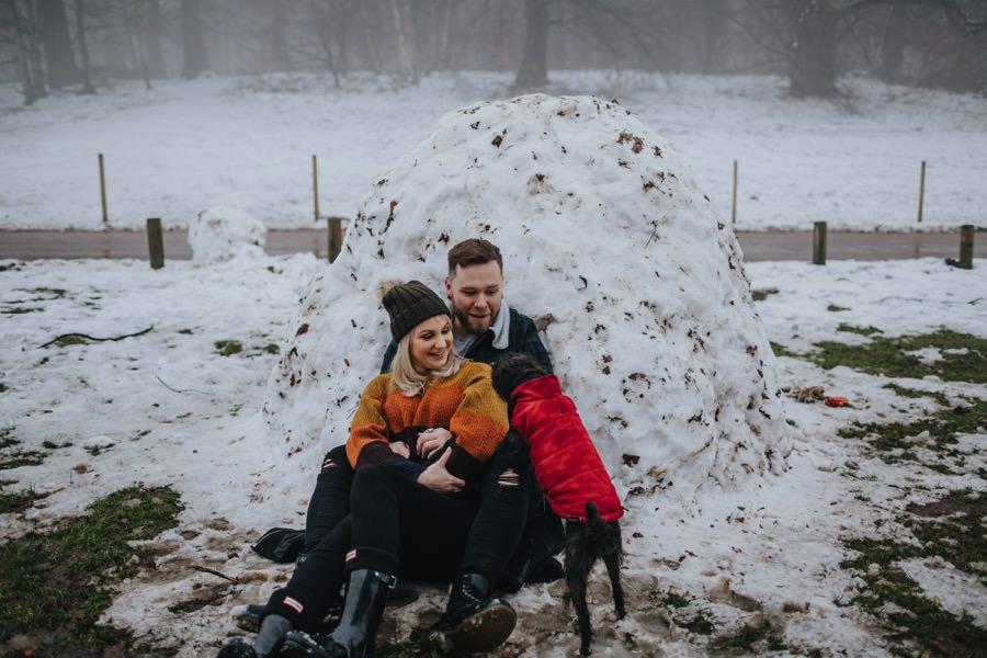 Emma & Kyle | Clumber Park Engagement shoot 66