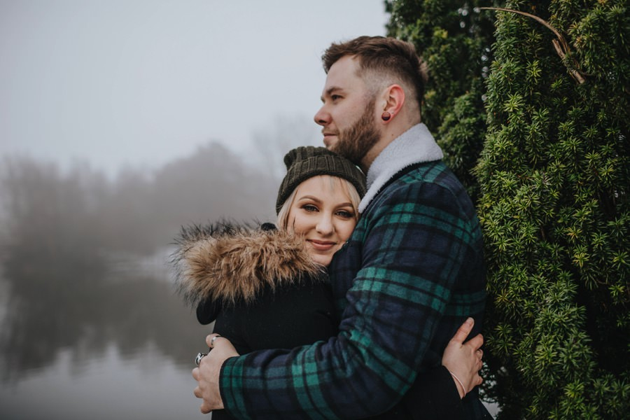Emma & Kyle | Clumber Park Engagement shoot 26