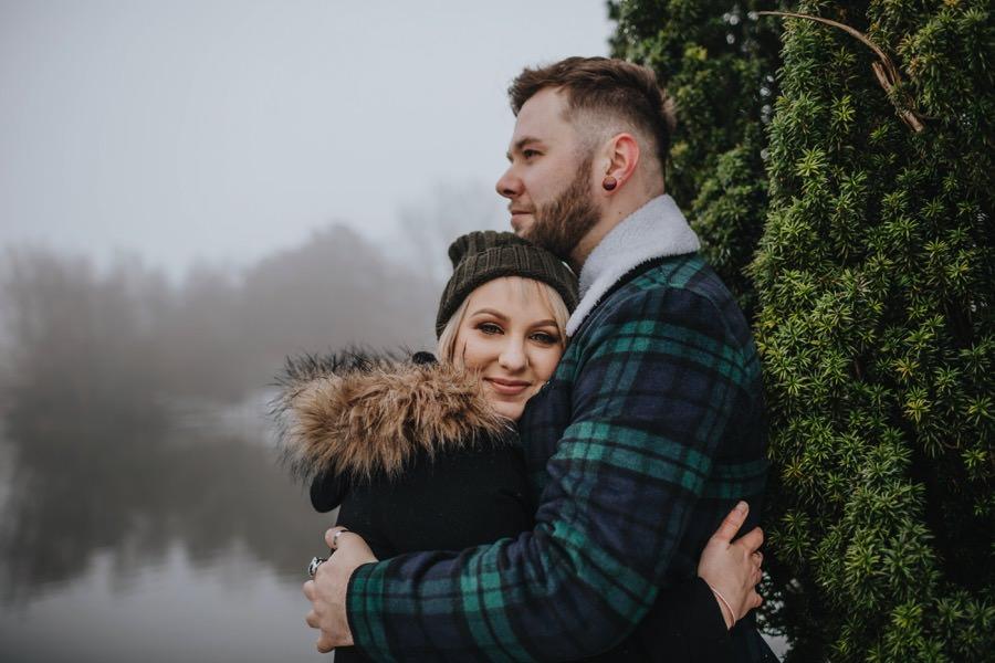 Emma & Kyle | Clumber Park Engagement shoot 70