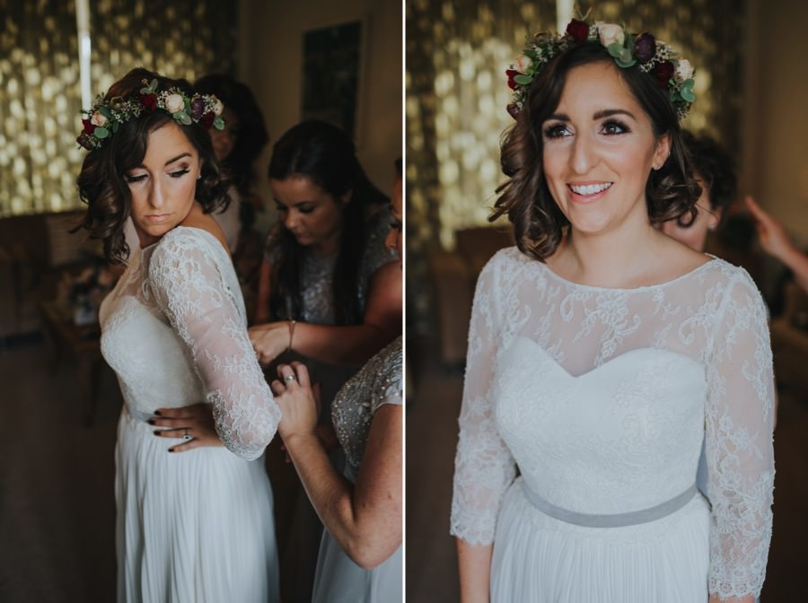 Kate & James   Combermere Abbey Wedding 23