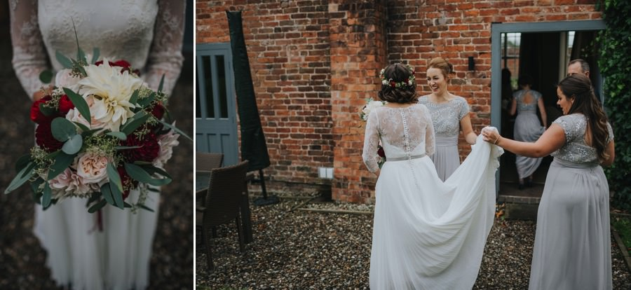 Kate & James   Combermere Abbey Wedding 35