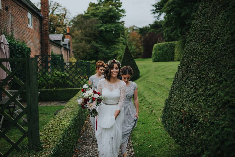 Kate & James   Combermere Abbey Wedding 36