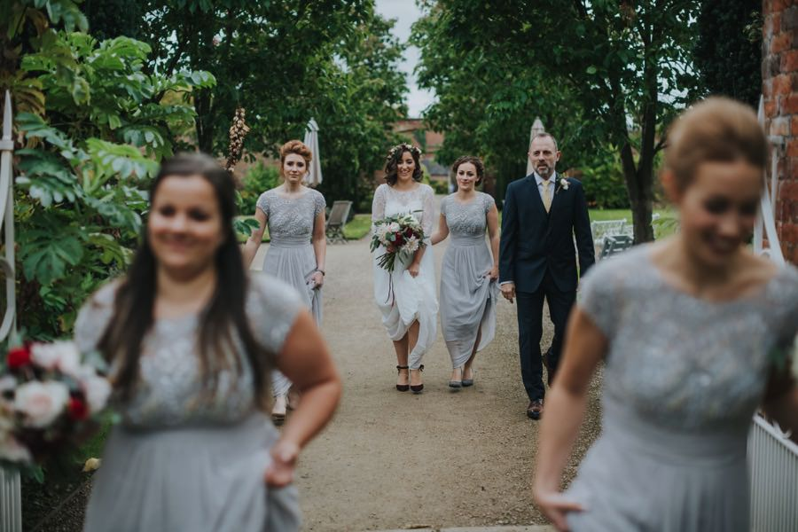 Kate & James   Combermere Abbey Wedding 37