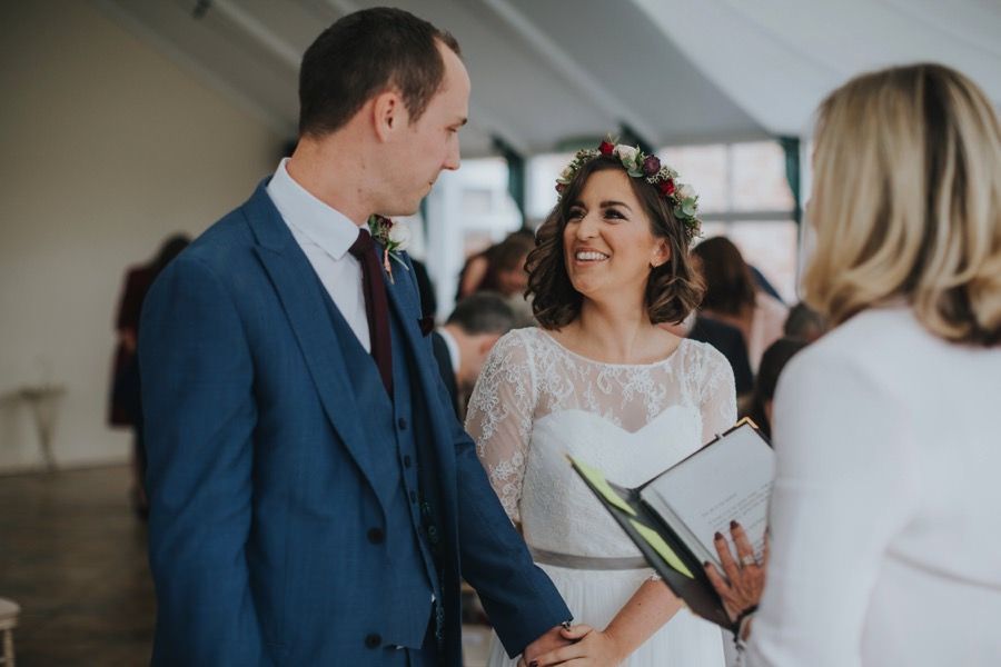 Kate & James   Combermere Abbey Wedding 41