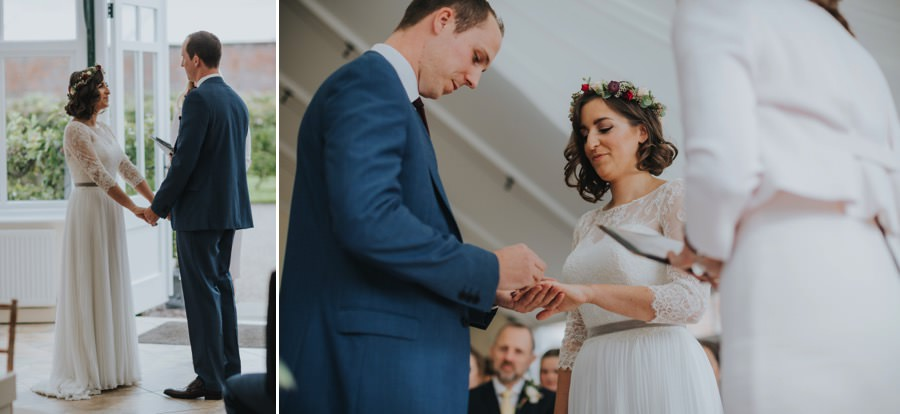 Kate & James   Combermere Abbey Wedding 46