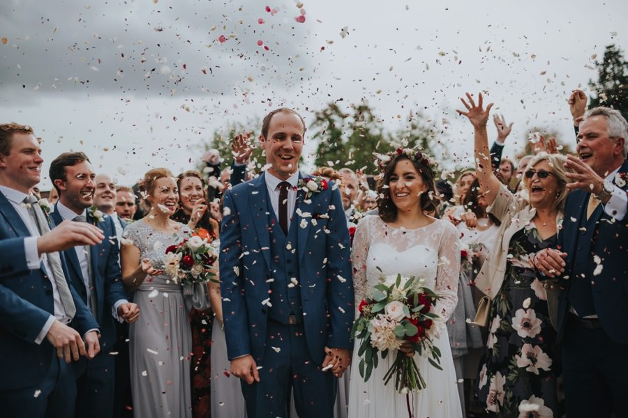 Kate & James   Combermere Abbey Wedding 50