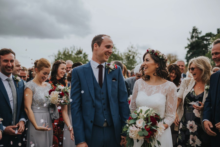 Kate & James   Combermere Abbey Wedding 51
