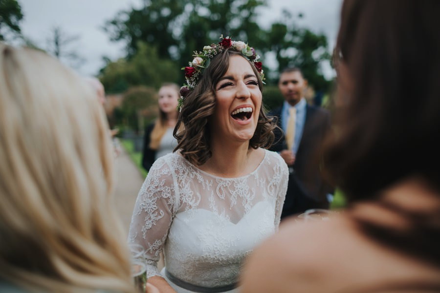 Kate & James   Combermere Abbey Wedding 57