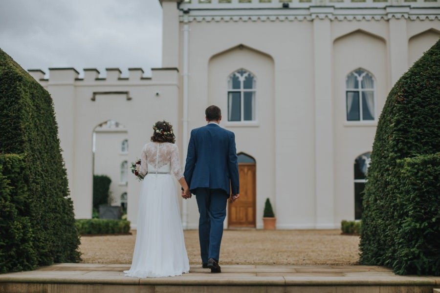 Kate & James   Combermere Abbey Wedding 61