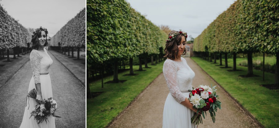 Kate & James   Combermere Abbey Wedding 74