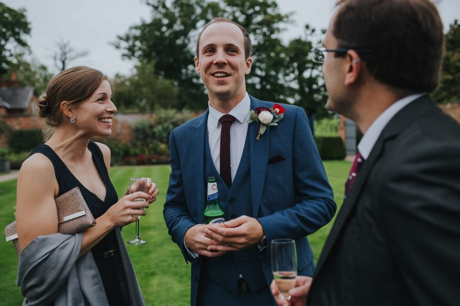 Kate & James   Combermere Abbey Wedding 75