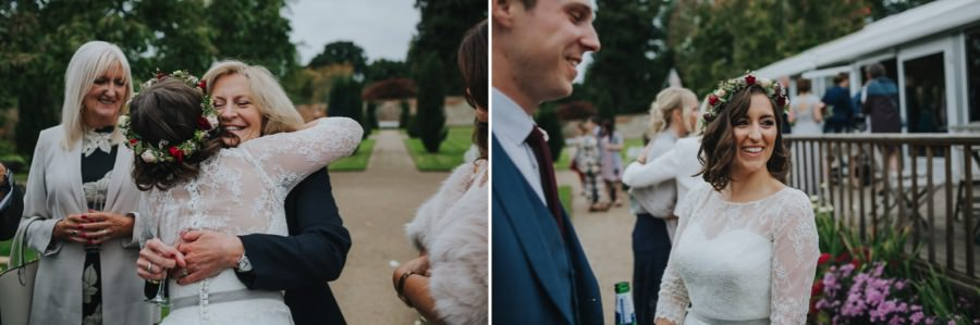 Kate & James   Combermere Abbey Wedding 76