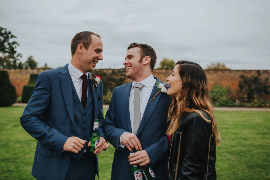 Kate & James   Combermere Abbey Wedding 77