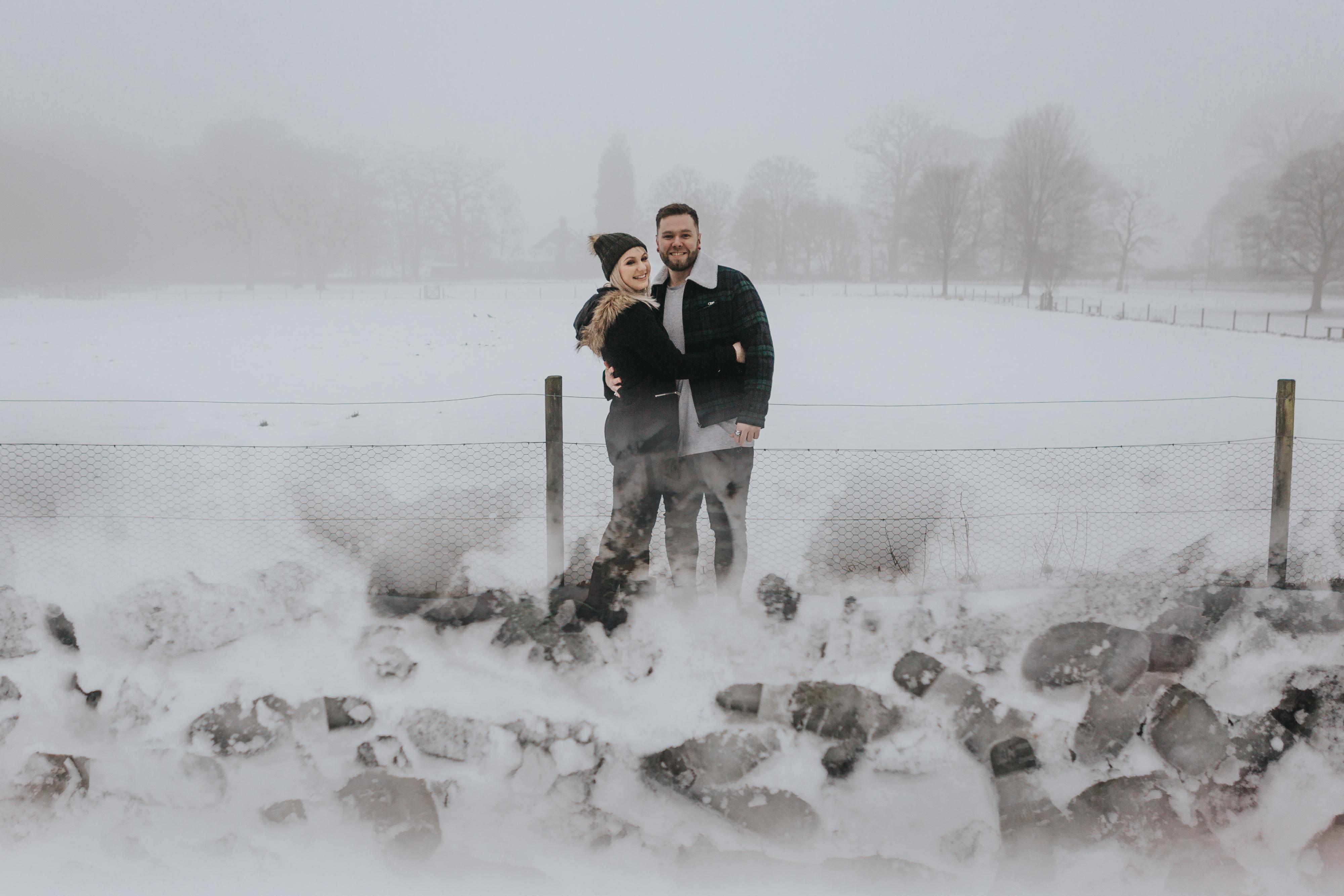 Emma & Kyle | Clumber Park Engagement shoot 79