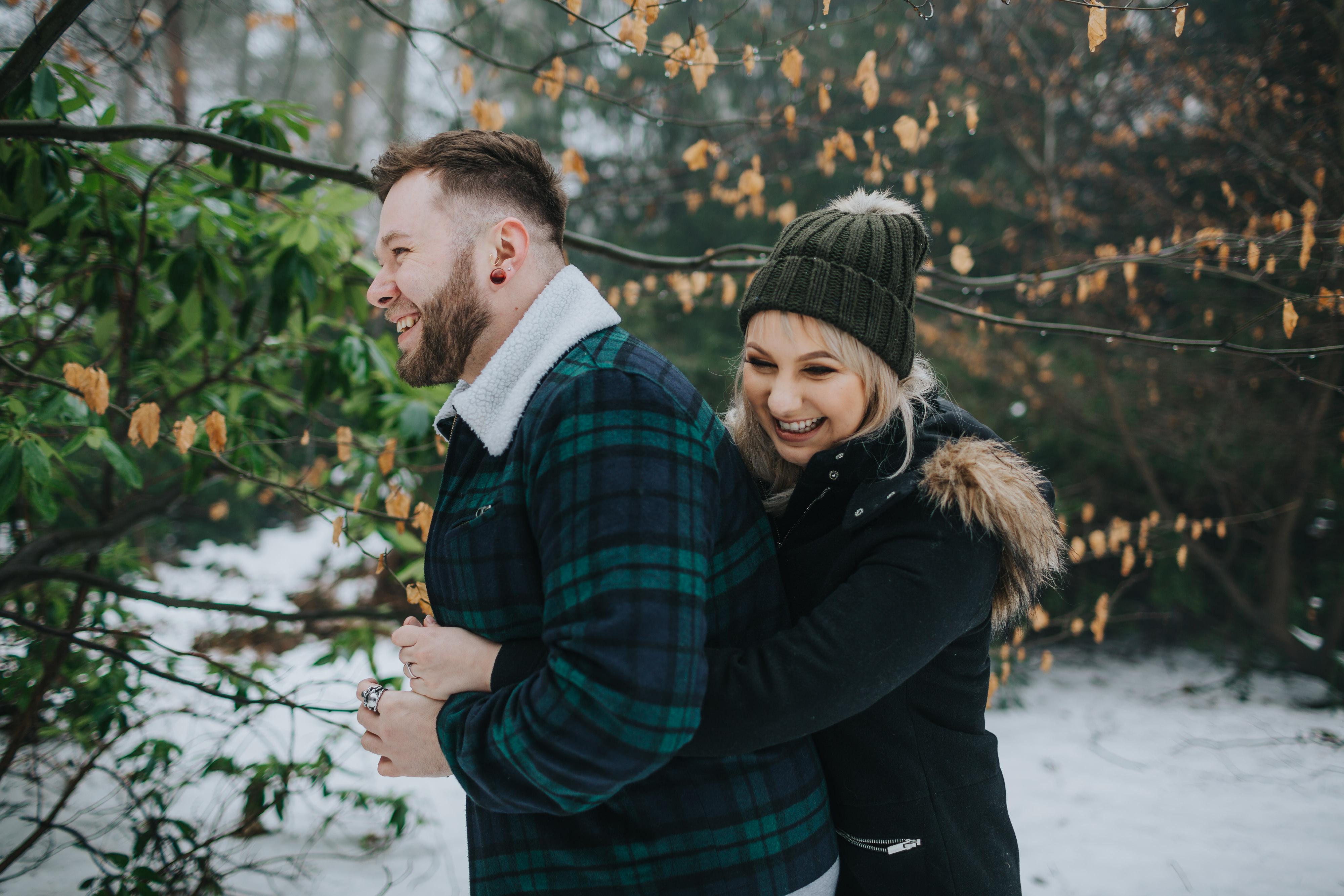 Emma & Kyle | Clumber Park Engagement shoot 38