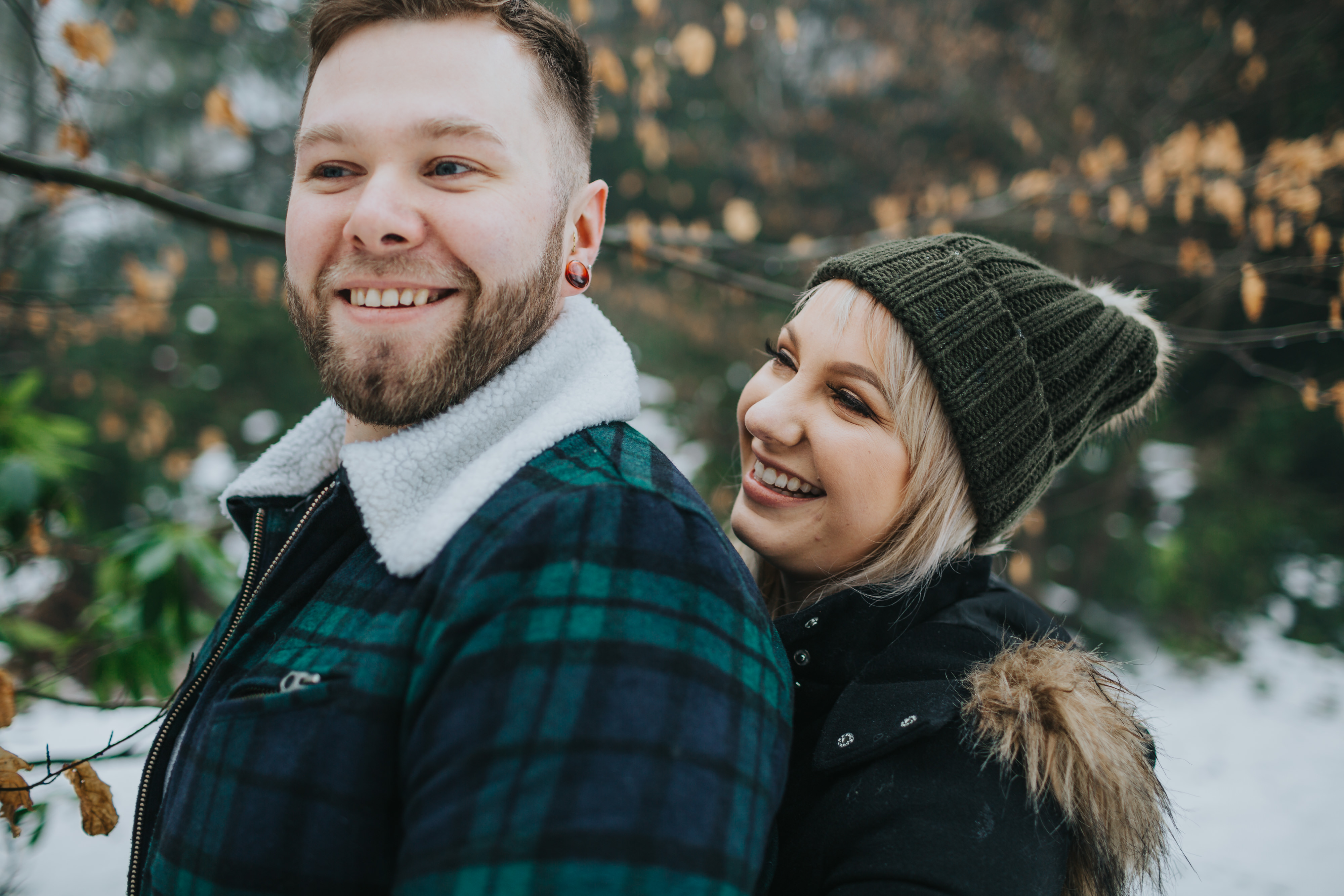 Emma & Kyle | Clumber Park Engagement shoot 39