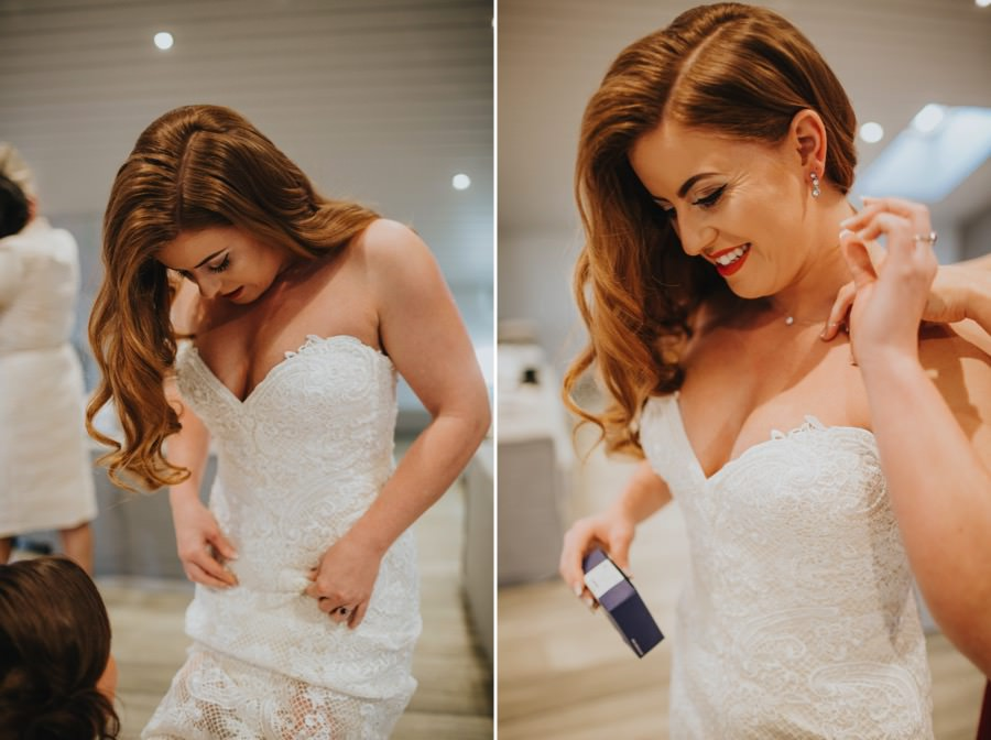 Amie & James | Yorkshire wedding barn 30