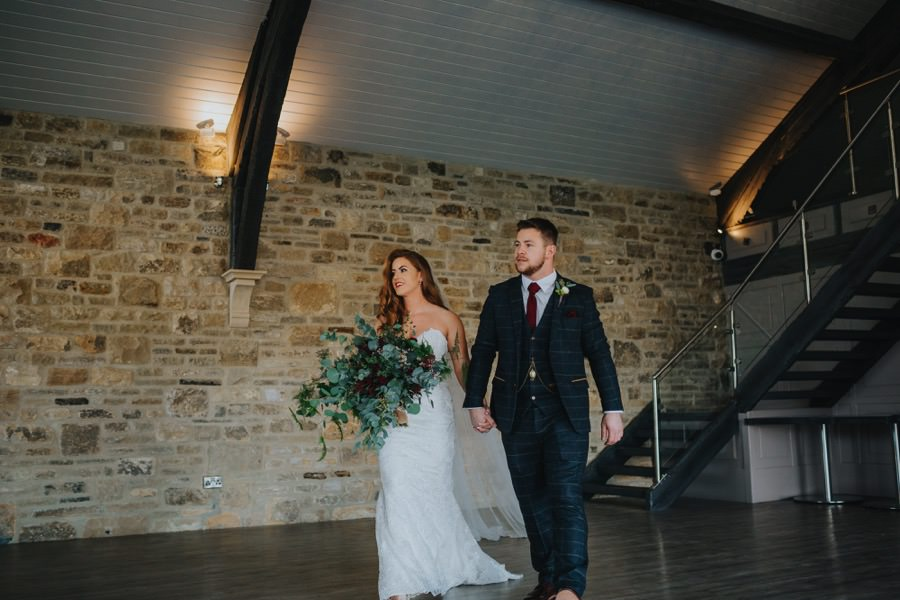Amie & James | Yorkshire wedding barn 42