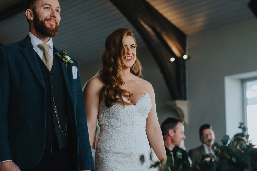 Amie & James | Yorkshire wedding barn 45