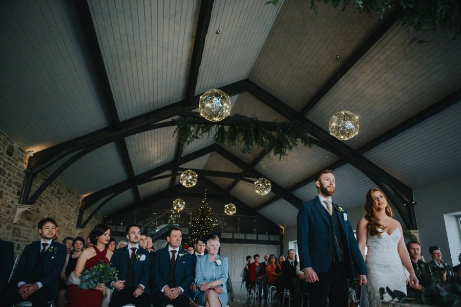 Amie & James | Yorkshire wedding barn 46