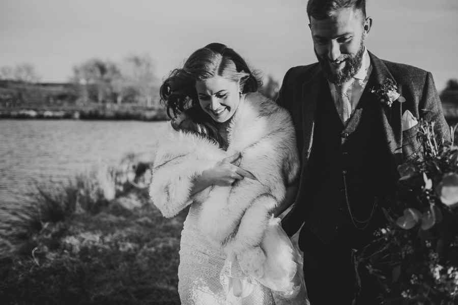 Amie & James | Yorkshire wedding barn 53