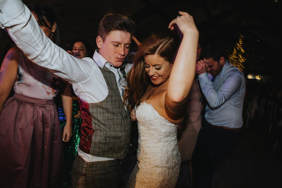 Amie & James | Yorkshire wedding barn 83