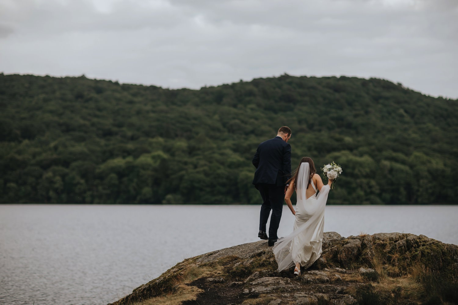 Helen & Jeremy | Graythwaite Wedding, Lake District 154