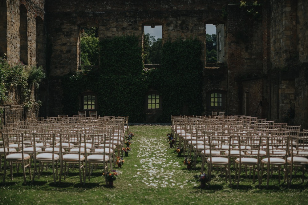 Newburgh priory ceremony