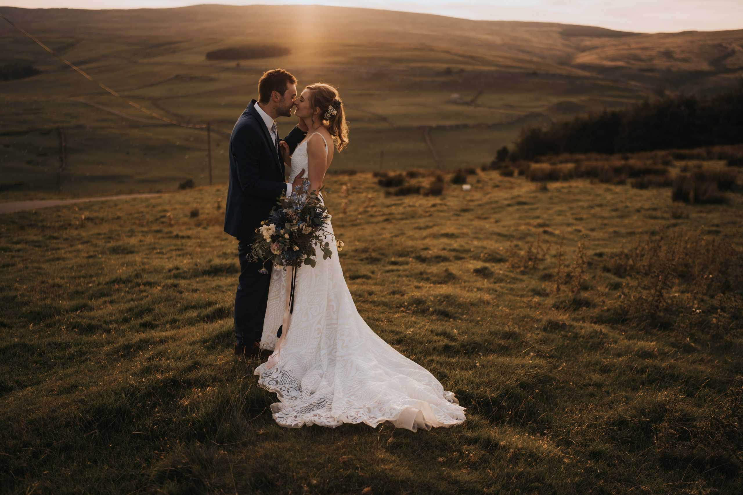 yorkshire tipi wedding